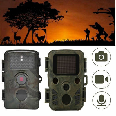 HD 1080P Hunting Camera Trail Scouting Wildlife Cam Night Vision IR Cut Infrared