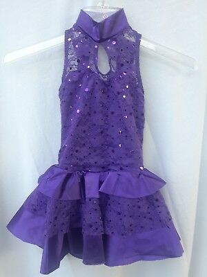 New Girls Ballet Dance Tutu Dress Leotard Skating Costume Dancewear sz:SC (6-6X)