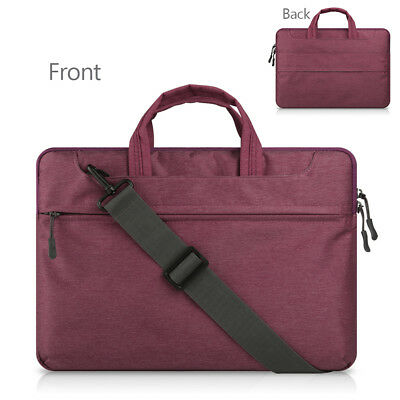 "12"" 13.3"" 15.6"" Laptop Shoulder Bags Cover Case Business Notebook Messenger Bags"