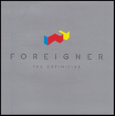 FOREIGNER - THE DEFINITIVE : 25th ANNIVERSARY D/Remaster CD ~ LOU GRAMM *NEW*