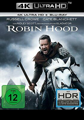 Robin Hood - Director's Cut / 4K Ultra HD Blu-ray # BLU-RAY-NEU