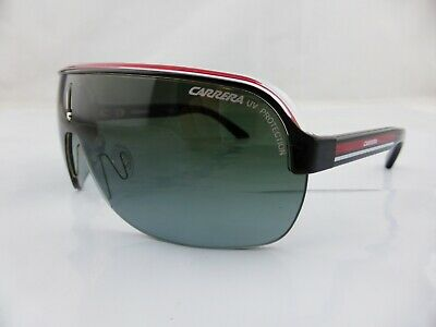 Carrera Sunglasses TOPCAR Black Crystal Red - Grey Gradient Lens with Hard Case