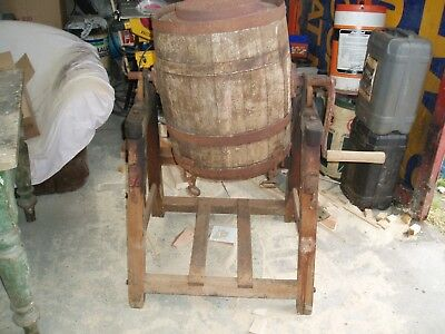 antique butter churn barn find very decorative got to go