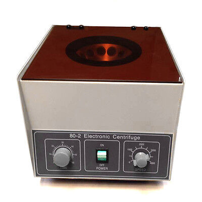 80-1 Electric Centrifuge Machine Lab Medical Practice 110V 4000 rpm 20ml x 12