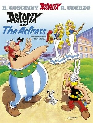 Asterix: Asterix and the actress by Albert Uderzo (Hardback)