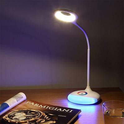 18 LED 360° Adjustable Dimmable Touch Control Eye Care LED Desk Warm White Lamp