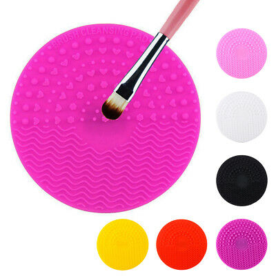 1pcs Silicone Makeup Brush Cleansing Pad Palette Brush Cleaner Cleaning Mat