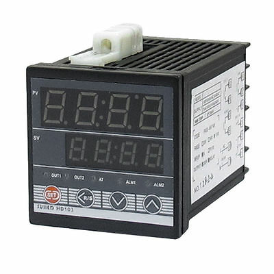 SSR Relay K Type Thermocouple PV SV Digital PID Temperature Controller HD-103