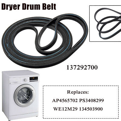 Dryer Drum Belt For Frigidaire 137292700 AP4565702 PS3408299 WE12M29 134503900