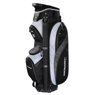 Prosimmon Golf Tour 14 Divider Cart / Trolley Golf Bag Black/Grey