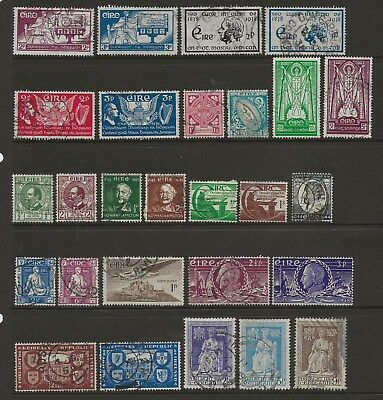 Ireland  Sel.of Used Needed For Gvi Collections Between Sg 105 & 151  Good/Fine