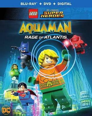 Lego Dc Super Heroes: Aquaman - Rage Of Atlantis New Blu-Ray Disc