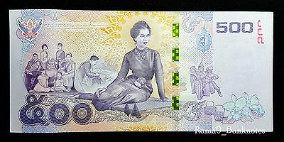 500 Baht Thailand Commemorative Banknote / Paper Money – (2015) – UNC