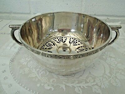 Antique Edwardian Silver Plated Hot Water Food Warmer C S Green & Co C1907