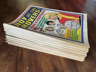 Roy of the Rovers Comic 1978 38 Issues World Cup Football Soccer