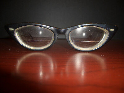 Vintage Bausch & Lomb Cat's Eye Glasses  4-5 1/4