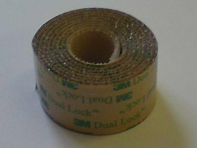 3M Double Sided Low Profile Dual Lock; 25mm x 1m strip
