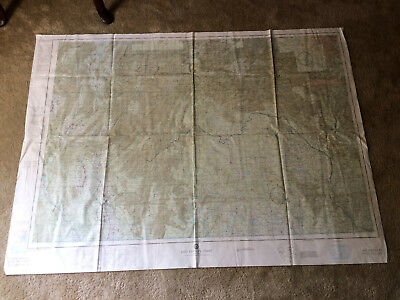 First Edition 1966 One Side Vietnam War Evasion & Escape Map 500-1EVC  vinyl
