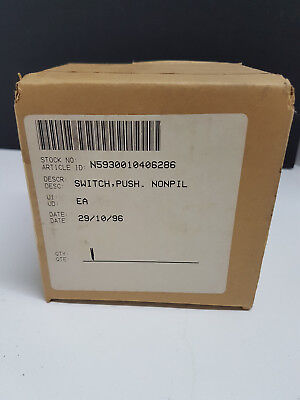 855401-18 Push Switch   5930-01-040-6286
