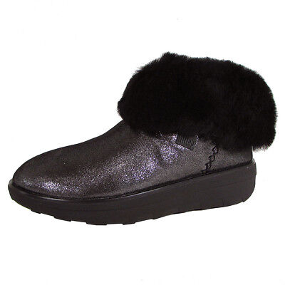 6f5f31af1 FITFLOP LTD FITFLOP Womens Mukluk Shorty II Shimmer Boot- Pick SZ ...