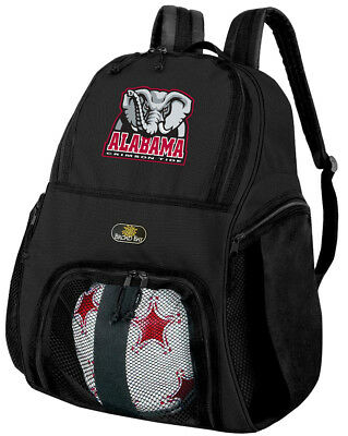 fecea85398 University of Alabama Soccer Backpack Alabama Volleyball Bag -SIDE SHOE  POCKETS