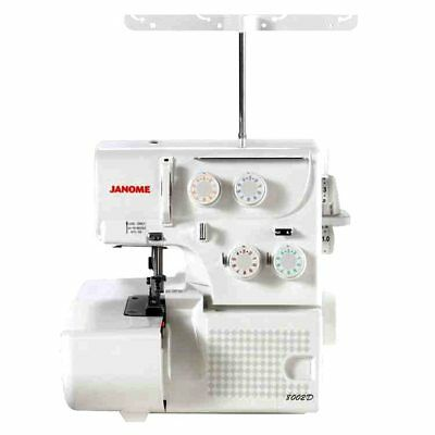 Janome 8002D Overlock Serger Machine Refurbished