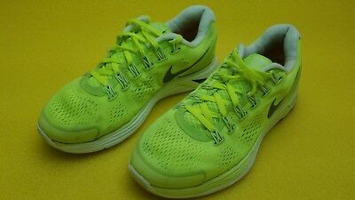 size 40 804f7 ac2d5 Womens  NIKE  LUNARLON ATHLETIC SHOES 8 DYNAMIC SUPPORT Neon Yellow