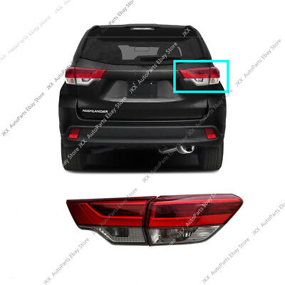 RH Outer+Inner Tail Light Brake Lamp Assy o For Toyota Highlander 2017-2019 OEM