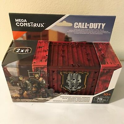 Mega Construx Call Of Duty Mercenary Outpost Armory Construction Set New in Box