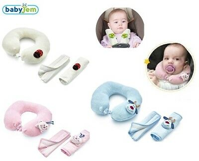 BabyJem Toddler/Kids/Baby Car Seat Neck Protector Head Support