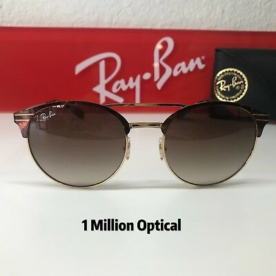 31441bf5ea0 NEW AUTHENTIC RAY-BAN Sunglasses RB3545 9008 13 54 Gold Tortoise Color -   139.00