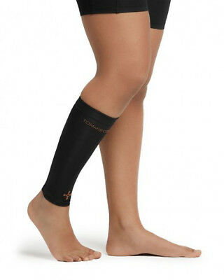 60380f55bd36e9 NEW Tommie Copper Women's Recovery Vigor Calf Sleeve, Black - Medium - NWT