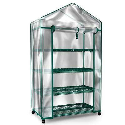 Green House HC-4201 Mini Greenhouse-4-Tier Indoor Outdoor Sturdy Portable...