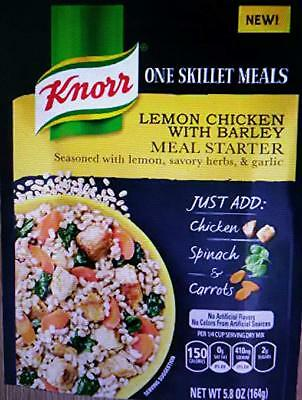 Knorr One Skillet Meals Lemon Chicken With Barley Meal Starter