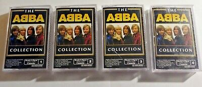 Reader's Digest The ABBA Collection 4 cassette Tapes Canada Agnetha Frida