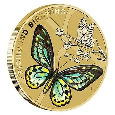 2016 Beautiful Butterflies Australia $1 One Dollar UNC Coin Perth Mint