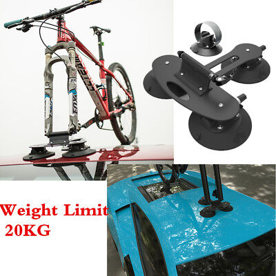 Standard Edition Stable Car Rack Roof-Top Suction Bike Bicycle MTB Carrier Frame