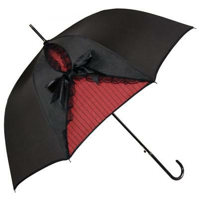 Kung Fu Smith Vintage Parasol Umbrella for Women, Gothic Windproof Lace...