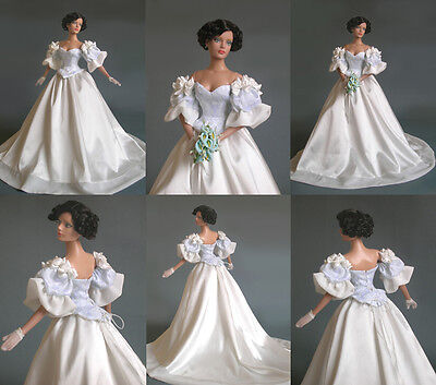 Sherry  Wedding dress for Sybarite/Tyler/Fashion Royalty Poppy Parker Doll TYO2