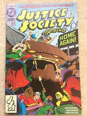 Justice Society of America #1 (DC 1992) *1st Jesse Chambers (Jesse Quick)*