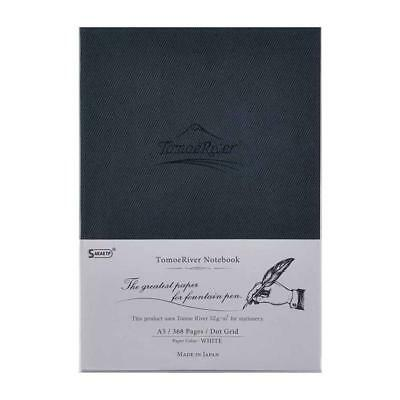 """Tomoe River FP Notebook, 5.85"""" x 8.27"""", 368 pages (184-Sheet), Hard Cover,..."""