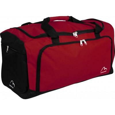 More Mile Medium Training Sports Fitness Gym Holdall - Red B Grade