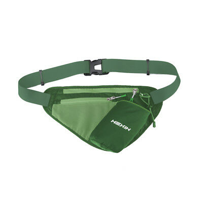 US Waterproof Sport Runner Waist Bum Bag Running Jogging Belt Pouch Fanny Pack