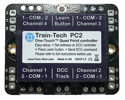 DCC COMMAND STATION, free App and instructions - PCB for sale - EUR