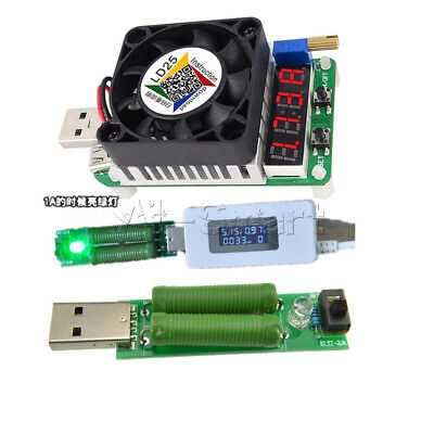 Electronic Load Power Resistor 25W USB Interface Discharge Battery Test  Tester