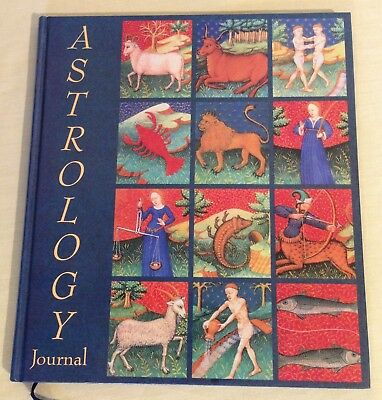 Astrology Journal Recording astrological forecasts Alan Huchison VGC Unused