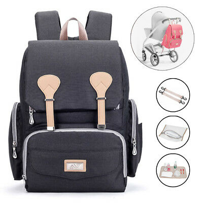 Maternity Bag Baby Nappy Diaper Changing Backpack Mummy Rucksack Travel Bag UK
