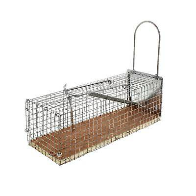 Rat Trap Case 27cm Bainbridge Live Capture Method Humane Galvanised Wire