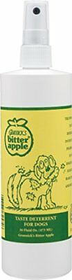 Grannicks Bitter Apple Spray 473ml 16oz - Stops Pets From Licking Fur & Wounds