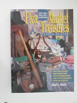 Official Price Guide to Flea Market Treasures 4th edition by Harry L. Rinker PB